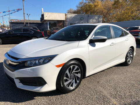 2018 Honda Civic for sale at SKY AUTO SALES in Detroit MI