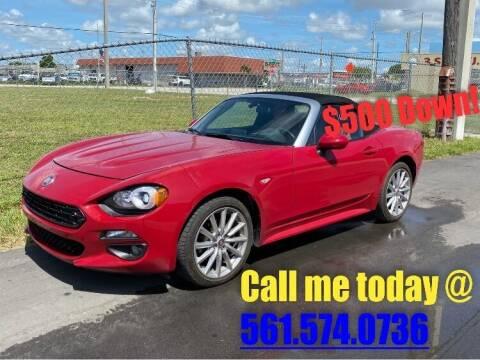 2017 FIAT 124 Spider for sale at Car Girl 101 in Oakland Park FL