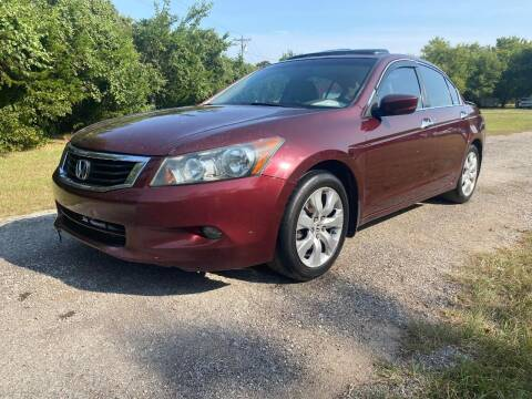 2008 Honda Accord for sale at The Car Shed in Burleson TX