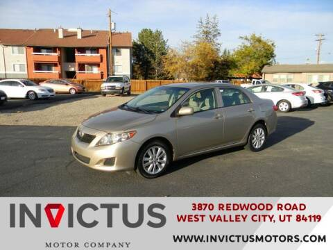 2010 Toyota Corolla for sale at INVICTUS MOTOR COMPANY in West Valley City UT