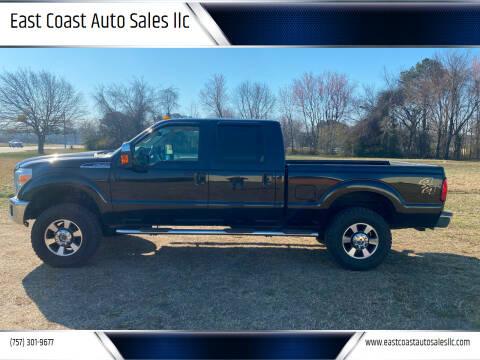 2014 Ford F-350 Super Duty for sale at East Coast Auto Sales llc in Virginia Beach VA