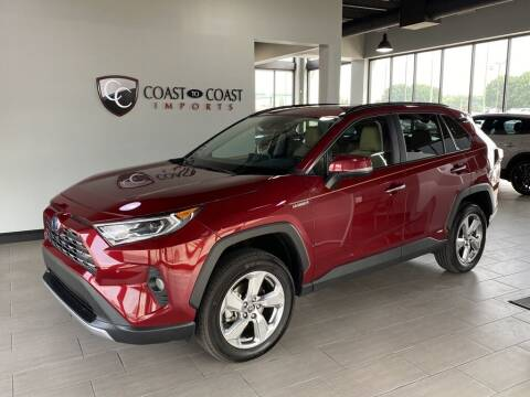 2020 Toyota RAV4 Hybrid for sale at Coast to Coast Imports in Fishers IN