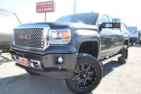 2014 GMC Sierra 1500 for sale at Frontier Auto & RV Sales in Anchorage AK