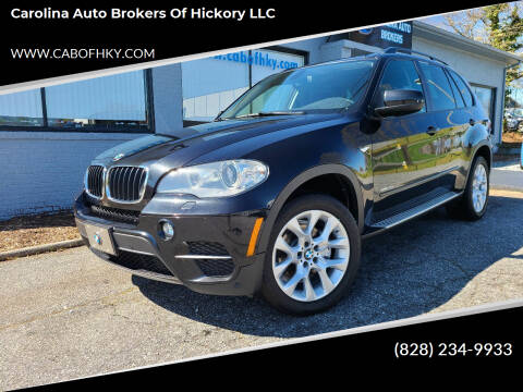 2012 BMW X5 for sale at Carolina Auto Brokers of Hickory LLC in Newton NC
