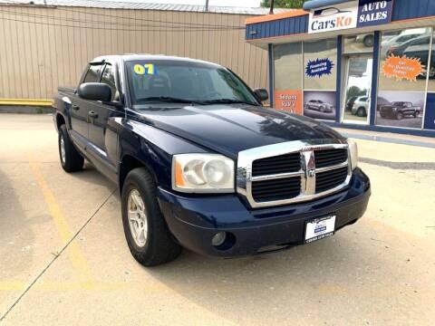 2007 Dodge Dakota for sale at Carsko Auto Sales in Bartonville IL