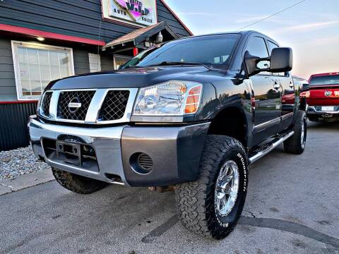 2007 Nissan Titan for sale at Valley VIP Auto Sales LLC in Spokane Valley WA