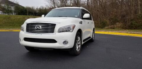 2011 Infiniti QX56 for sale at Diamond Automobile Exchange in Woodbridge VA