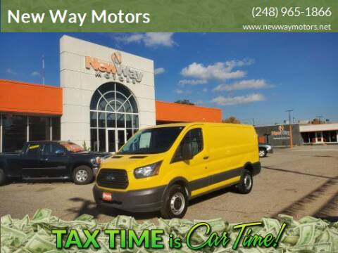 2015 Ford Transit Cargo for sale at New Way Motors in Ferndale MI