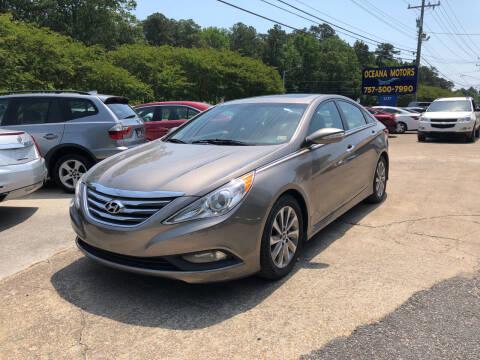 2014 Hyundai Sonata for sale at Oceana Motors in Virginia Beach VA