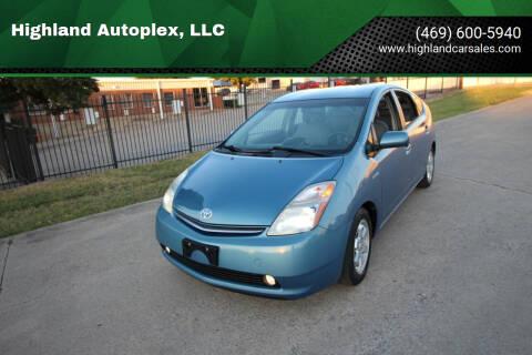 2007 Toyota Prius for sale at Highland Autoplex, LLC in Dallas TX