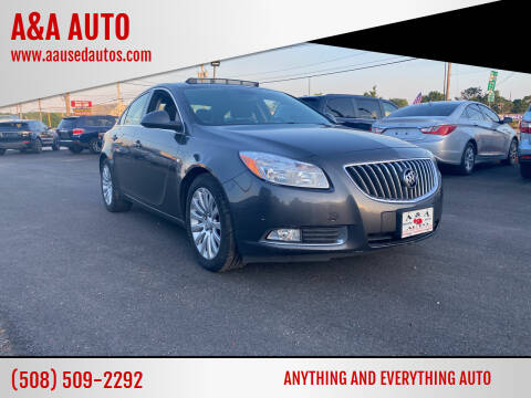2011 Buick Regal for sale at A&A AUTO in Fairhaven MA