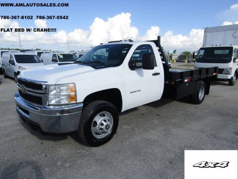 2011 Chevrolet Silverado 3500HD for sale at AML AUTO SALES - Flat Beds in Opa-Locka FL