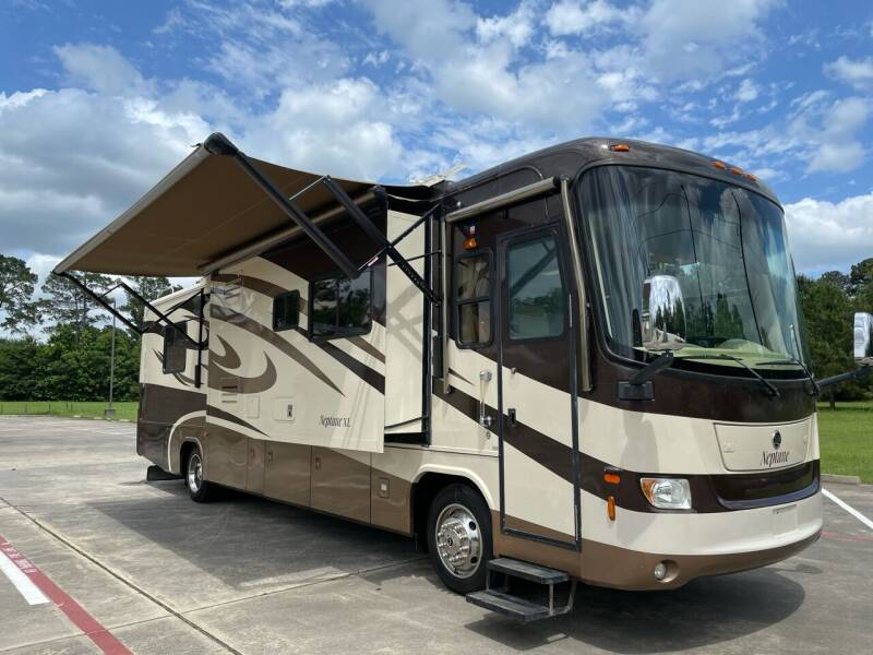2008 Holiday Rambler Neptune XL  39' Diesel Pusher for sale at Top Choice RV in Spring TX