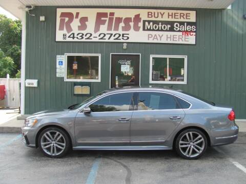 2016 Volkswagen Passat for sale at R's First Motor Sales Inc in Cambridge OH