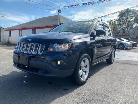 2014 Jeep Compass for sale at PELHAM USED CARS & AUTOMOTIVE CENTER in Bronx NY