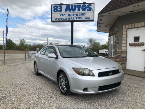 2008 Scion tC for sale at 83 Autos in York PA