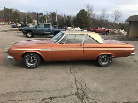 1964 Plymouth Fury for sale at Randys Auto Sales in Gardner MA