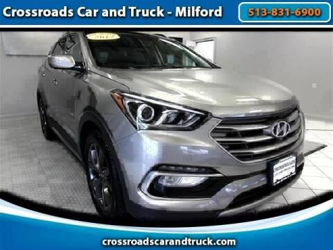2017 Hyundai Santa Fe Sport for sale at Crossroads Car & Truck in Milford OH