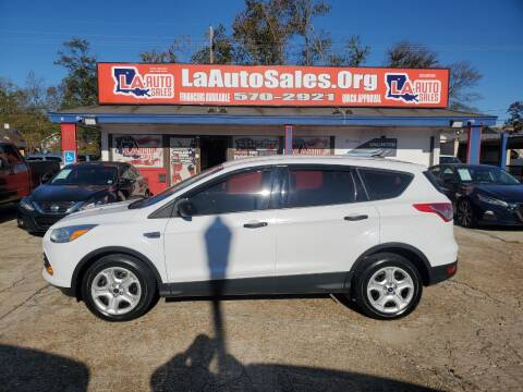 2014 Ford Escape for sale at LA Auto Sales in Monroe LA