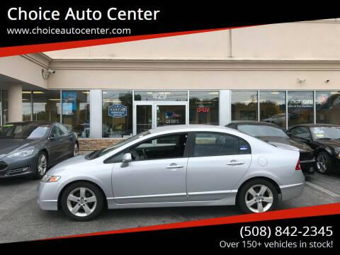 2011 Honda Civic for sale at Choice Auto Center in Shrewsbury MA