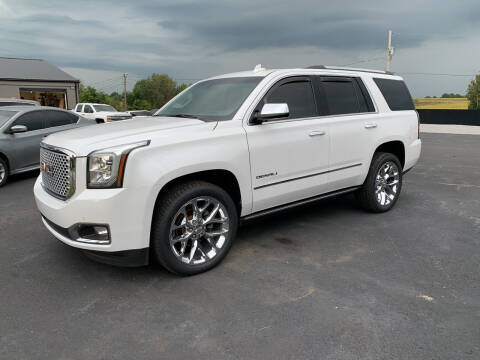 2017 GMC Yukon for sale at Todd Nolley Auto Sales in Campbellsville KY