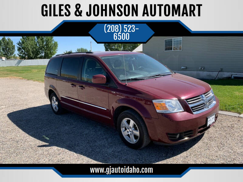 2009 Dodge Grand Caravan for sale at GILES & JOHNSON AUTOMART in Idaho Falls ID