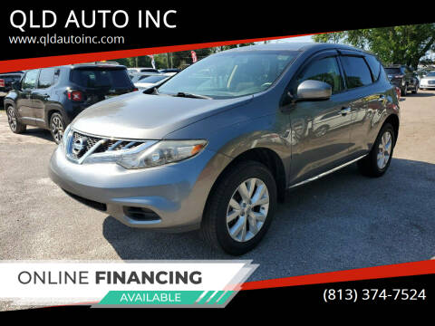 2014 Nissan Murano for sale at QLD AUTO INC in Tampa FL