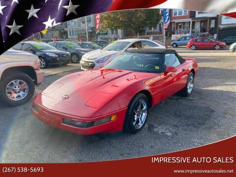 1991 Chevrolet Corvette for sale at Impressive Auto Sales in Philadelphia PA