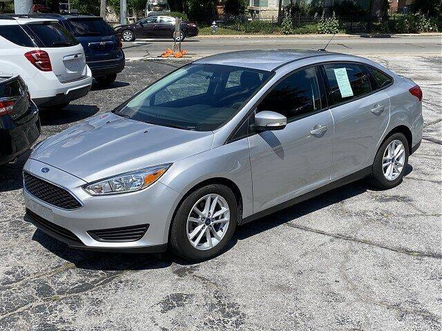 2017 Ford Focus for sale at Sunshine Auto Sales in Huntington IN