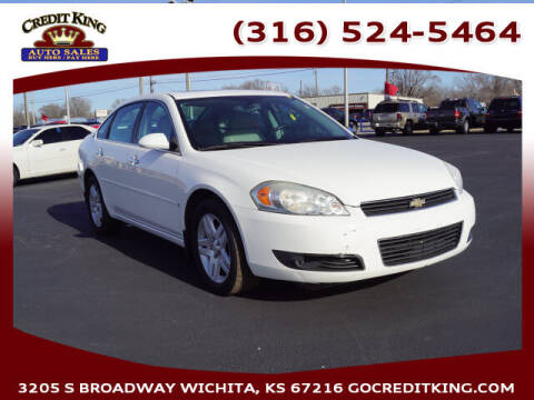 2007 Chevrolet Impala for sale at Credit King Auto Sales in Wichita KS