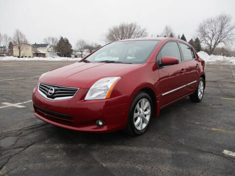 2012 Nissan Sentra for sale at Triangle Auto Sales in Elgin IL