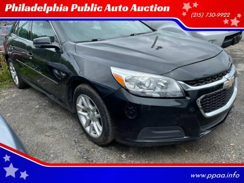 2014 Chevrolet Malibu for sale at Philadelphia Public Auto Auction in Philadelphia PA