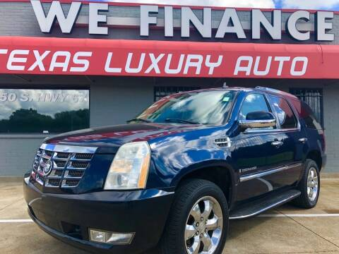 2007 Cadillac Escalade for sale at Texas Luxury Auto in Cedar Hill TX