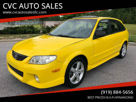 2003 Mazda Protege5 for sale at CVC AUTO SALES in Durham NC