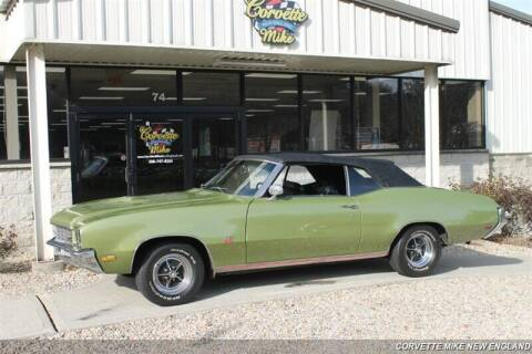 1972 Buick Gran Sport for sale at Corvette Mike New England in Carver MA