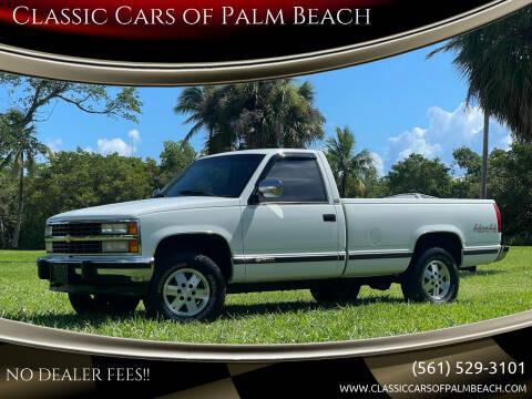 1991 Chevrolet C/K 1500 Series for sale at Classic Cars of Palm Beach in Jupiter FL