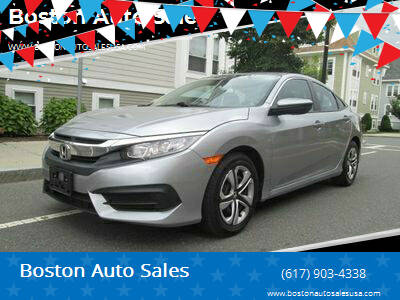 2016 Honda Civic for sale at Boston Auto Sales in Brighton MA