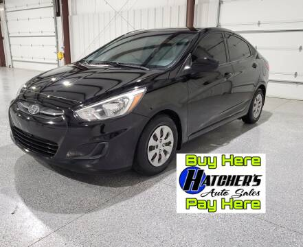 2016 Hyundai Accent for sale at Hatcher's Auto Sales, LLC - Buy Here Pay Here in Campbellsville KY