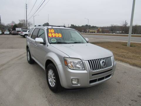 2010 Mercury Mariner for sale at Auto Bella Inc. in Clayton NC