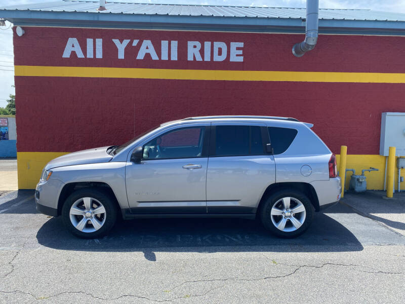 2016 Jeep Compass for sale at Big Daddy's Auto in Winston-Salem NC
