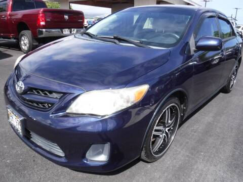 2011 Toyota Corolla for sale at PONO'S USED CARS in Hilo HI