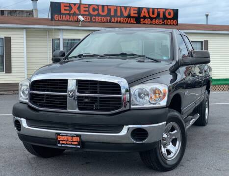 2008 Dodge Ram Pickup 1500 for sale at Executive Auto in Winchester VA