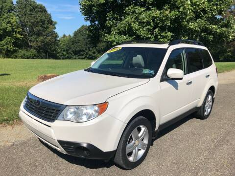 2010 Subaru Forester for sale at Hutchys Auto Sales & Service in Loyalhanna PA