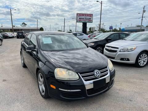 2009 Volkswagen Jetta for sale at Jamrock Auto Sales of Panama City in Panama City FL