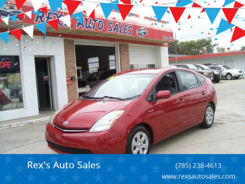 2008 Toyota Prius for sale at Rex's Auto Sales in Junction City KS