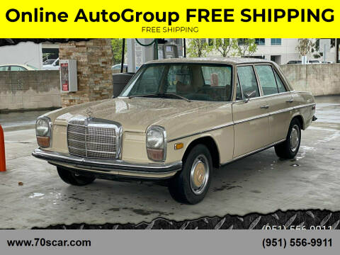 1970 Mercedes-Benz 220 Diesel for sale at Online AutoGroup FREE SHIPPING in Riverside CA