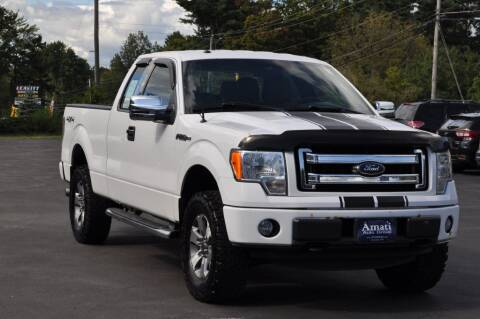 2013 Ford F-150 for sale at Amati Auto Group in Hooksett NH