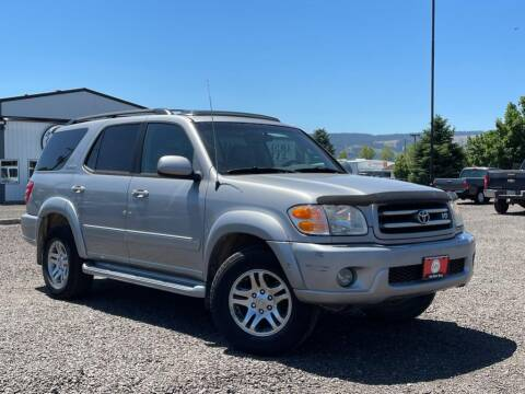 2003 Toyota Sequoia for sale at The Other Guys Auto Sales in Island City OR