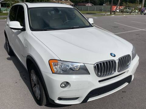 2013 BMW X3 for sale at Consumer Auto Credit in Tampa FL