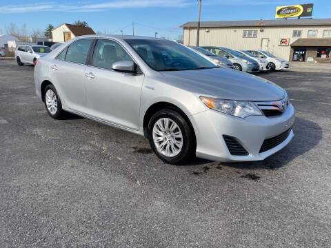 2013 Toyota Camry Hybrid for sale at Riverside Auto Sales & Service in Portland ME